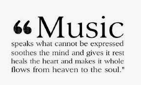 Let the MUSIC play! – OutsideTheKitchenWindow
