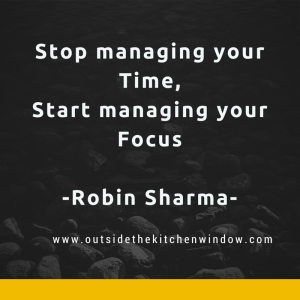 Stop managing your Time,Start managing your